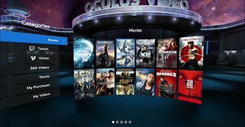 오큘러스 비디오 실행화면 기어 VR 영상 보는 방법 oculus video 2 1